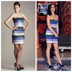 Giorgio Armani NWT Striped Dress with Defect